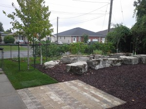 Assorted Pavers from Permacon allows for an accsesible outdoor classroom